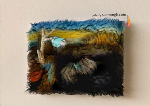 نقاشی تداوم حافظه اثر سالوادور دالی با خز