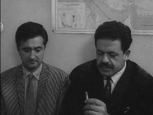 محمدعلی کشاورز 56 سال پیش در فیلم شب قوزی