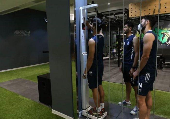 کنترل ویژه مجیدی روی وزن بازیکنان (عکس)
