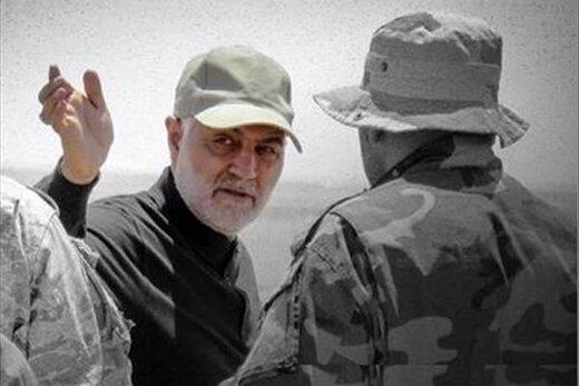 ۲ تصویر ناب و کمتر دیده شده از سردار شهید سلیمانی