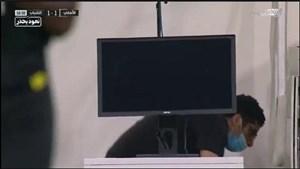 اتفاق عجیب برای کمک داور ویدئویی بازی الاهلی-الشباب/ VAR در یک بازی لیگ عربستان مختل شد