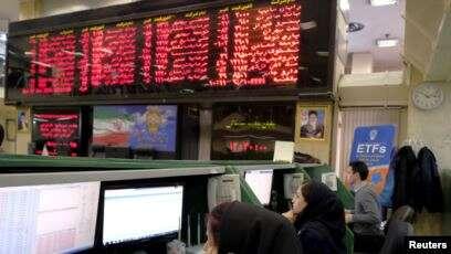 ادامه سقوط شاخص بورس تهران