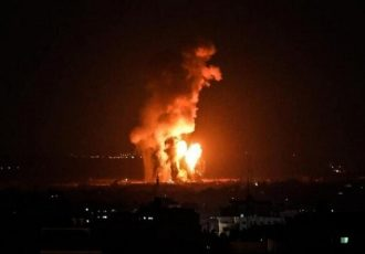 ارتش رژیم صهیونیستی مواضع حماس را هدف قرار داد