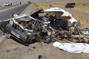 اسامی ۱۴ کشته تصادف جاده سبزوار – اسفراین