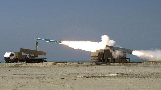 این موشک کروز ایرانی، نابودکننده ناوشکن های دشمن در خلیج فارس است /موشک نصر را ببینید و بشناسید+عکس