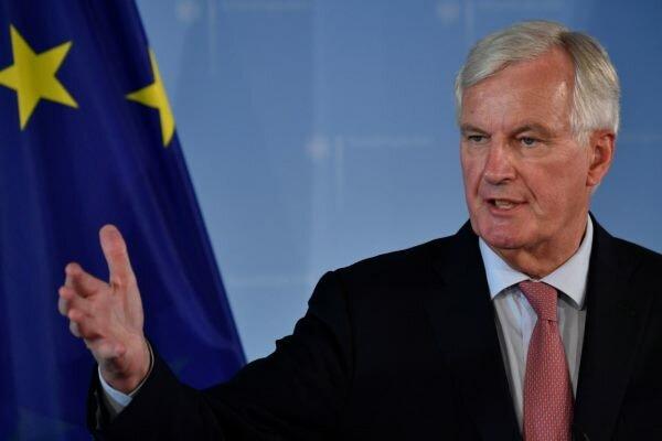 «بارنیه» از روند مذاکرات با لندن ابراز  ناامیدی کرد