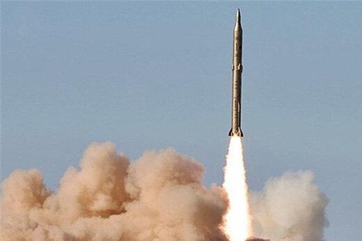 ببینید | فیلم دیده نشده از نقطه زنی موشک خرمشهر-۲