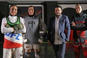 خواهران منصوریان وارد MMA شدند!!