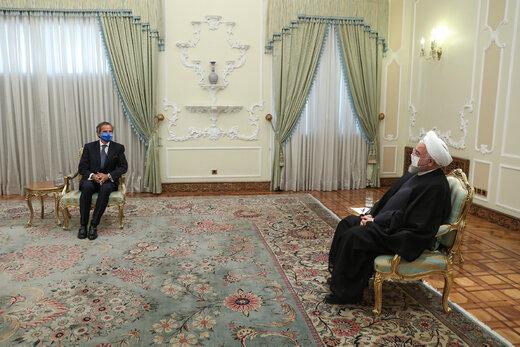 روحانی به گروسی: آماده همکاری با آژانس در چارچوب پادمان است