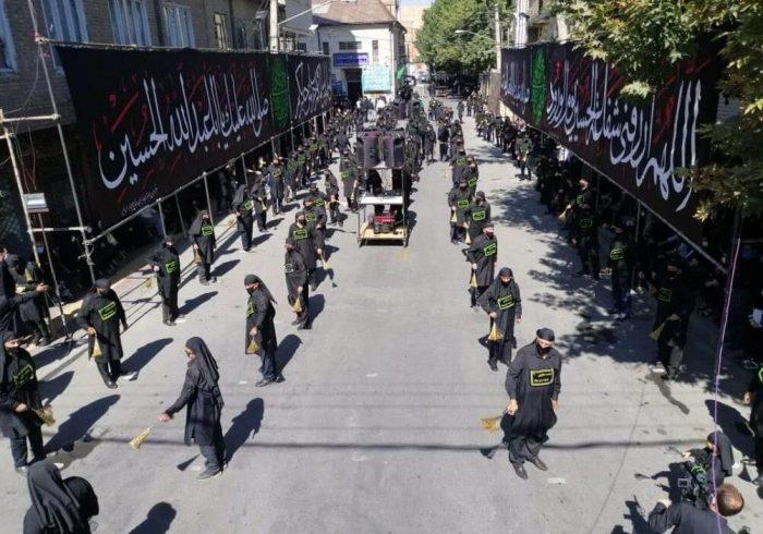 شور حسینی مردم کهگیلویه و بویراحمد در تاسوعای حسینی
