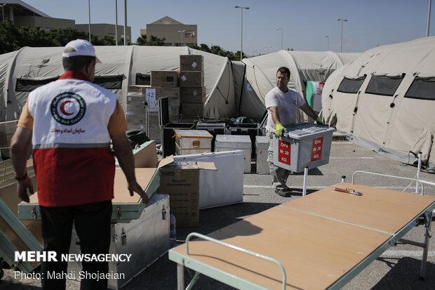 مراجعه بیش از۳۵۰ مصدوم انفجار لبنان به بیمارستان صحرایی هلال احمر