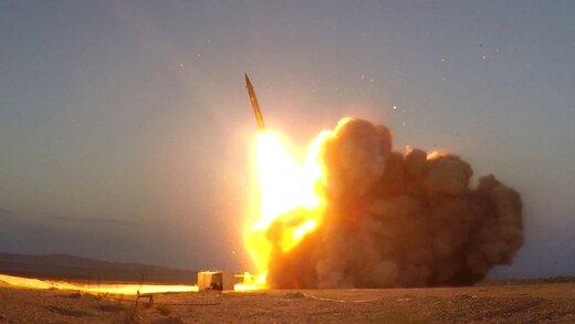 موشک های بالستیک ایران رکورد شکستند /«موشک حاج قاسم»، برگ برنده ایران در عملیات علیه دشمن است +عکس