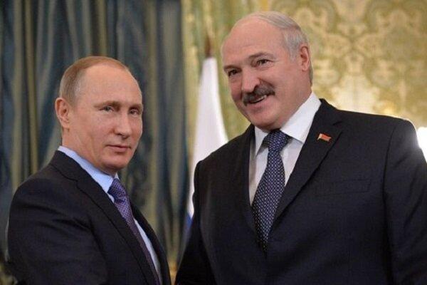 پوتین: موضع غرب در قبال انتخابات بلاروس از پیش تعیین شده بود