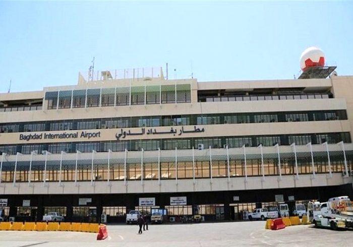 یک فروند راکت کاتیوشا به فرودگاه بغداد اصابت کرد