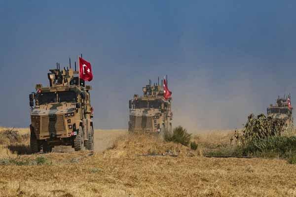 ترکیه یک کاروان نظامی را وارد شمال سوریه کرد