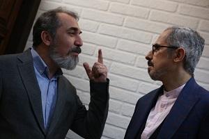 تصاویر دیدنی از سریال جواد رضویان و سیامک انصاری