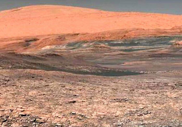 ثبت تصویر گرد و غبار شیطانی در مریخ +عکس