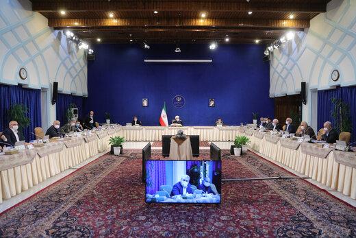 در جلسه هئیت دولت در غیاب روحانی چه گذشت؟