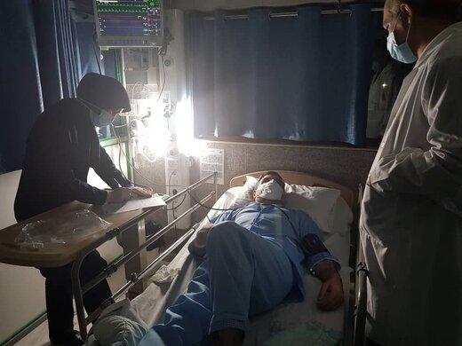 نماینده مجلس سکته قبلی کرد /بستری شدن امیرآبادی در بیمارستان +عکس