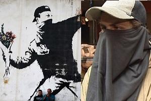 هنرمند مشهور، شایعات در مورد هویت خود را رد کرد! بنکسی کیست؟ + عکس