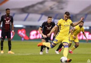 پیروزی النصر قبل از بازی با سپاهان