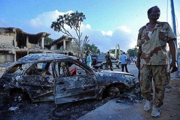 ۸ کشته و دهها زخمی در انفجارانتحاری نزدیک کاخ ریاست جمهوری سومالی