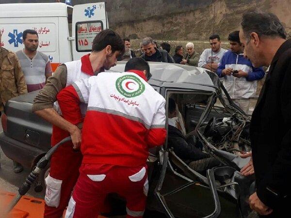 امدادرسانی به ۲۴۱ نفر از آسیب دیدگان حوادث طی ۳ روز گذشته