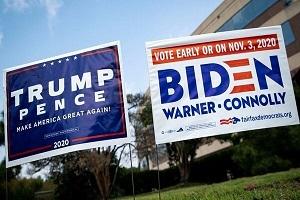 انتخابات ۲۰۲۰ امریکا ؛ رقابت شانه به شانه بایدن و ترامپ در پنسیلوانیا