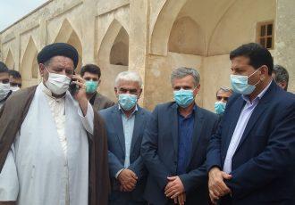بازدید مسئولان استانی از بافت تاریخی دهدشت