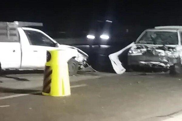 تصادف در محور شاهرود-طرود یک کشته برجای گذاشت
