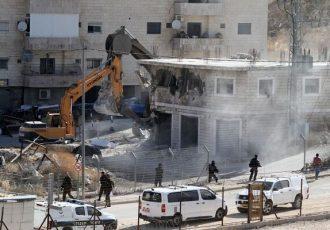 جامعه بین الملل برای توقف تخریب منازل فلسطینی ها وارد عمل شود