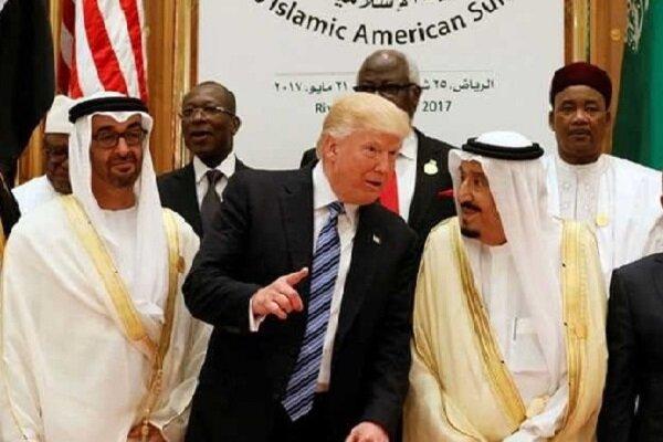 حاکمان دیکتاتور عرب برای اربابان خود در کاخ سفید چاپلوسی می کنند
