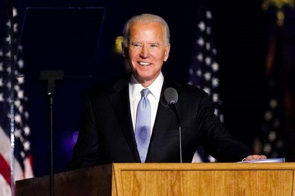 رئیس جمهور منتخب آمریکا سخنرانی خود را آغاز کرد