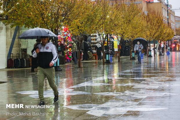 آغاز بارش باران و برف از روز جمعه در خوزستان