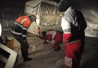 امدادرسانی به بیش از ۶ هزار نفر درگیر برف و کولاک طی ۴ روز گذشته