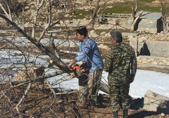 سه هزار و ۵۰۰ متر مربع اراضی ملی بویراحمد رفع تصرف شد