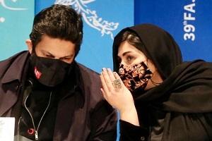 حرکات عجیب حامد بهداد و باران کوثری در جشنواره فجر + تصاویر