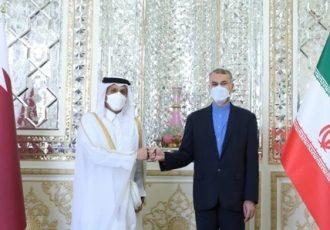 وزیر خارجه قطر به دیدار امیرعبداللهیان رفت