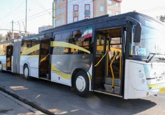 پیدا شدن جسد یک مرد در اتوبوس واحد تهران +عکس