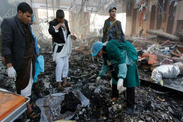 جنگندههای سعودی استانهای «الجوف» و «مأرب» یمن را بمباران کردند