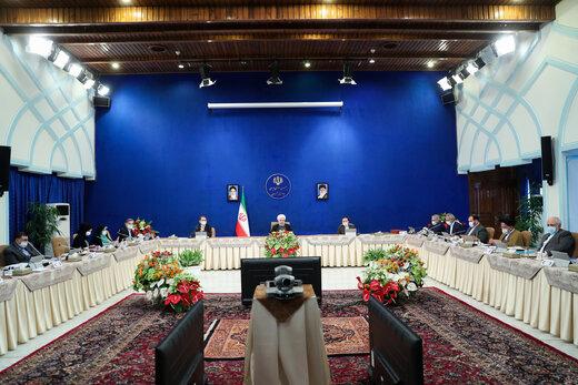در جلسه هئیت دولت به ریاست رئیس جمهور چه گذشت؟