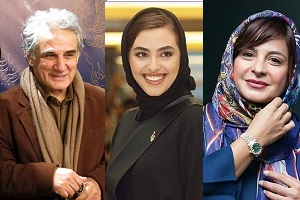"""گریم ریحانه پارسا، مهدی هاشمی، سیما تیرانداز در """"کوسه"""" + عکس"""