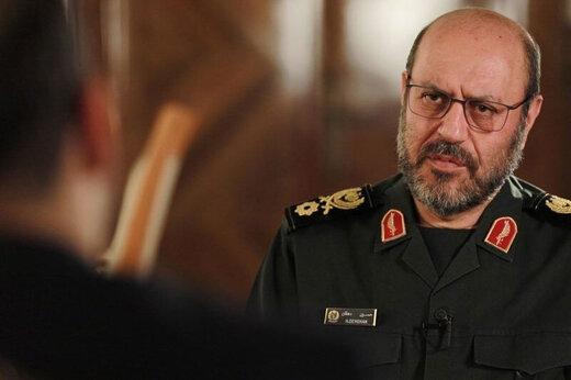 ببینید | سردار حسین دهقان: انفجار بیروت اقدام ۱۰۰ درصد اسرائیلی بود!