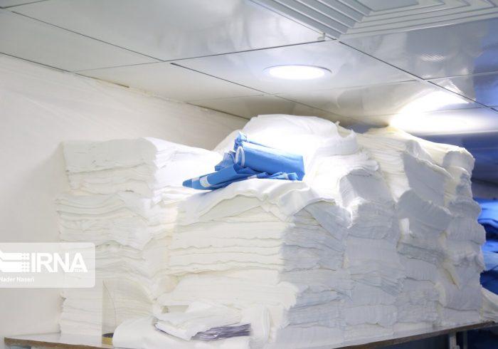 دستگاه تولید ماسک پنج لایه در کهگیلویه و بویراحمد ساخته شد