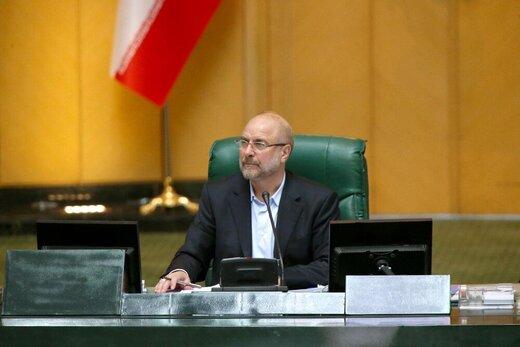 هشدار قالیباف به امارات از تریبون مجلس