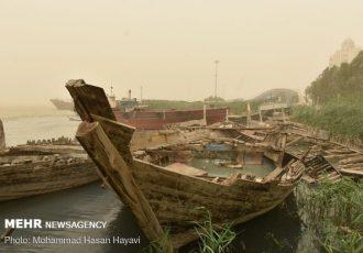 گرد و خاک عراقی در راه خوزستان است