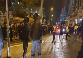 تداوم تظاهرات علیه نخست وزیر رژیم صهیونیستی