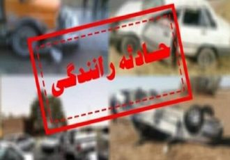 حادثه در جاده سراب- بستان آباد با ۲ کشته و ۲ مصدوم