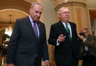 رهبران سنای آمریکا درباره تقسیم قدرت توافق کردند