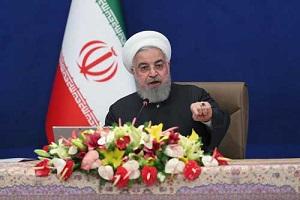 روحانی: تبریک، دوباره در برابر آمریکا پیروز شدیم
